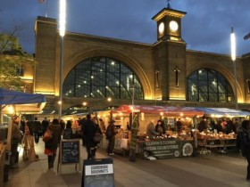 Kings cross stalls